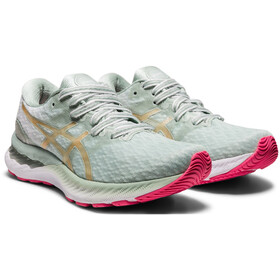 asics Gel-Nimbus 23 Shoes Women, lichen rock/champagne